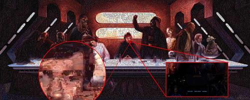 Star Wars composée de 65550 images