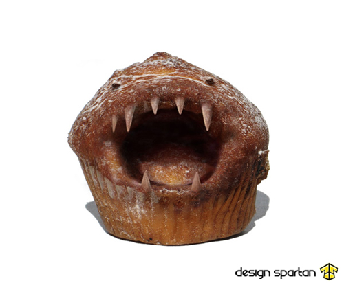 Mechant muffin de Spartan
