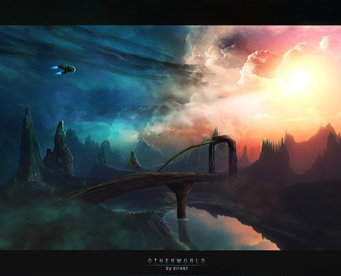 tutoriel créer une planète space art de dilekt